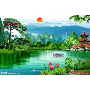 Tranh 3d Phong cảnh PCM311