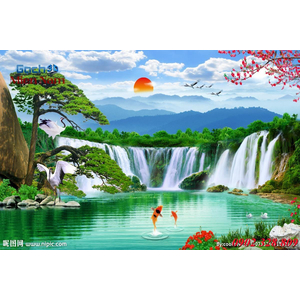 Tranh 3d Phong cảnh PCM312