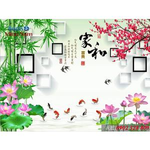 Tranh 3d Phong cảnh PCM341