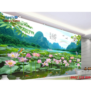 Tranh 3d Phong cảnh PCM346