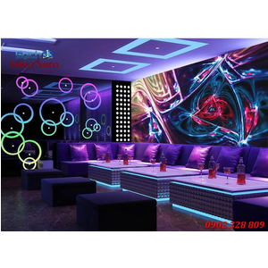 Tranh 3D phòng Karaoke KRK04