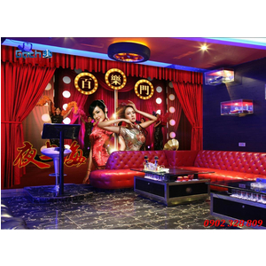 Tranh 3D phòng Karaoke KRK11