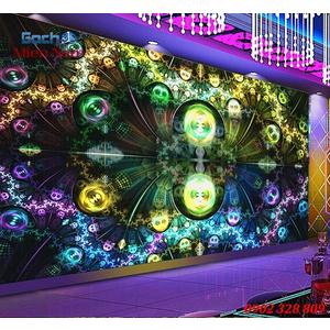 Tranh dán tường phòng Karaoke KOK50