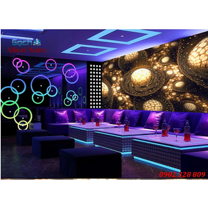 Tranh dán tường phòng Karaoke KOK55