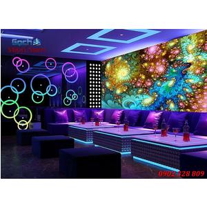 Tranh dán tường phòng Karaoke KOK56