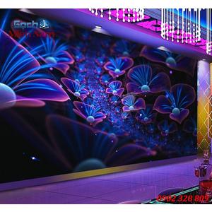Tranh dán tường phòng Karaoke KOK59