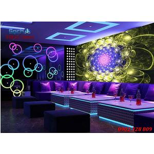 Tranh dán tường phòng Karaoke KOK60