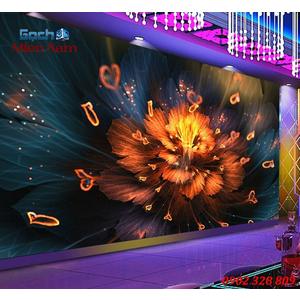 Tranh dán tường phòng Karaoke KOK61