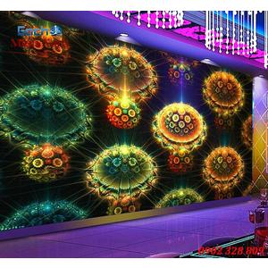 Tranh dán tường phòng Karaoke KOK63