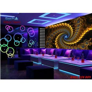 Tranh dán tường phòng Karaoke KOK64