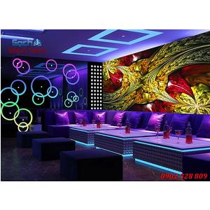 Tranh dán tường phòng Karaoke KOK65
