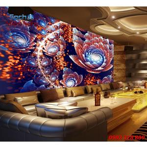 Tranh dán tường phòng Karaoke KOK69