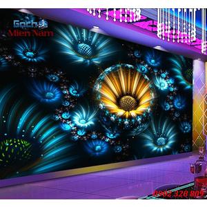 Tranh dán tường phòng Karaoke KOK77