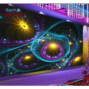 Tranh dán tường phòng Karaoke KOK78