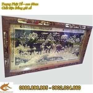 Tranh đồng Vinh quy bái tổ 95x170cm, tranh đồng mỹ nghệ cao cấp