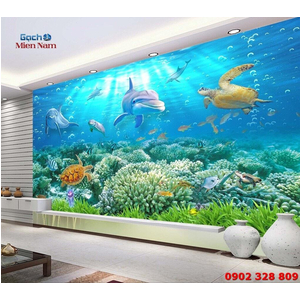 Tranh Gạch 3D Biển Đại Dương TDD06