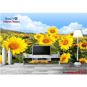 Tranh gạch 3d Hoa Hướng Dương HHD39