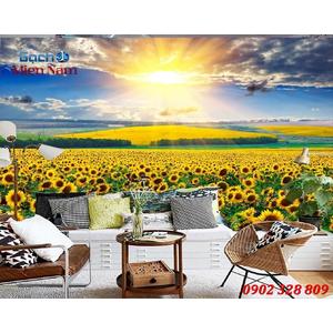 Tranh gạch 3d Hoa Hướng Dương HHD40