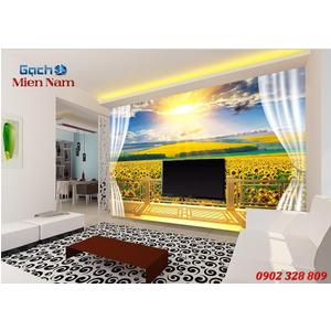 Tranh gạch 3d Hoa Hướng Dương HHD43