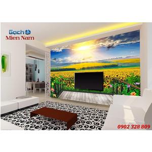 Tranh gạch 3d Hoa Hướng Dương HHD46