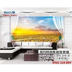 Tranh gạch 3d Hoa Hướng Dương HHD49