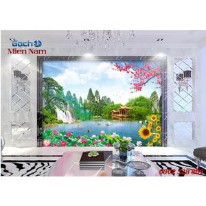 Tranh gạch 3d Hoa Hướng Dương HHD55