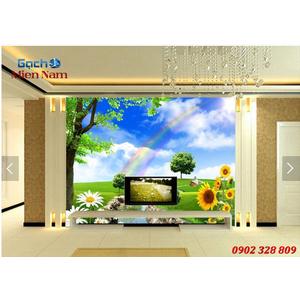 Tranh gạch 3d Hoa Hướng Dương HHD58