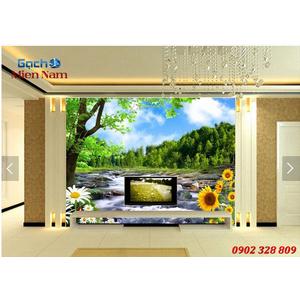 Tranh gạch 3d Hoa Hướng Dương HHD60