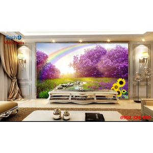 Tranh gạch 3d Hoa Hướng Dương HHD61