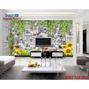 Tranh gạch 3d Hoa Hướng Dương HHD63