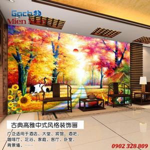 Tranh gạch 3d Hoa Hướng Dương HHD64