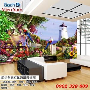 Tranh gạch 3d Hoa Hướng Dương HHD68