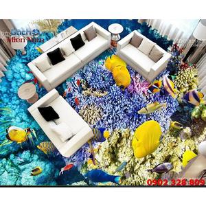 Tranh Gạch 3D Lát Nền Cá Heo SDD51