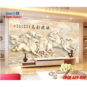 Tranh Gạch 3d Mã Đáo Thành Công CNM32