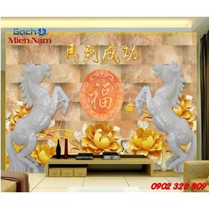 Tranh Gạch 3d Mã Đáo Thành Công CNM34