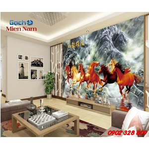Tranh Gạch 3d Mã Đáo Thành Công CNM38