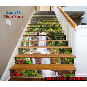 Tranh gạch 3d ốp bậc cầu thang BCT01