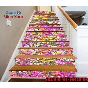 Tranh gạch 3d ốp bậc cầu thang BCT100
