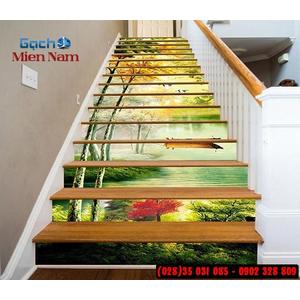 Tranh gạch 3d ốp bậc cầu thang BCT102