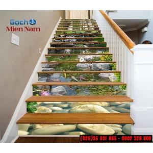 Tranh gạch 3d ốp bậc cầu thang BCT103