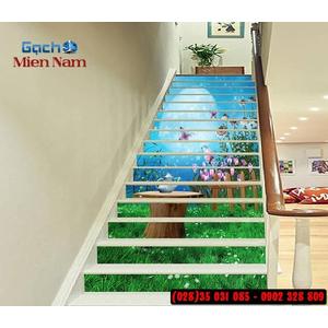 Tranh gạch 3d ốp bậc cầu thang BCT109