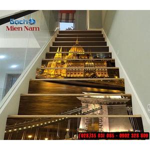 Tranh gạch 3d ốp bậc cầu thang BCT110