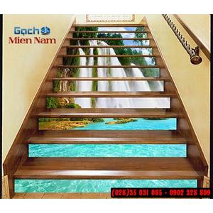 Tranh gạch 3d ốp bậc cầu thang BCT112