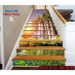 Tranh gạch 3d ốp bậc cầu thang BCT115