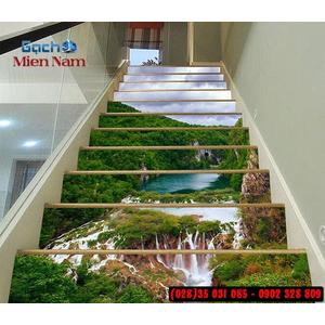 Tranh gạch 3d ốp bậc cầu thang BCT116