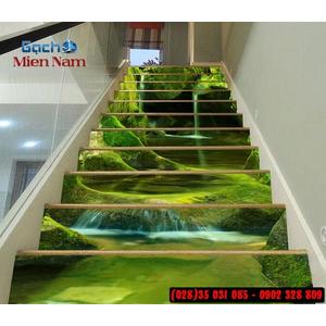 Tranh gạch 3d ốp bậc cầu thang BCT85
