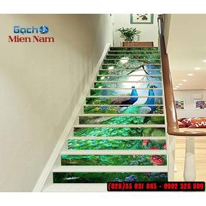 Tranh gạch 3d ốp bậc cầu thang BCT92