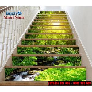Tranh gạch 3d ốp bậc cầu thang BCT95