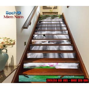 Tranh gạch 3d ốp bậc cầu thang BCT97