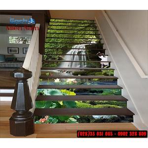 Tranh gạch 3d ốp bậc cầu thang BCT98